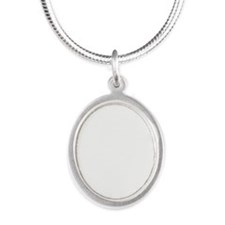 MSC: Doctor Silver Oval Necklace