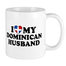 I Love My Dominican Husband Mug