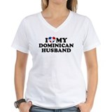 I Love My Dominican Husband Shirt