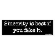 Sincerity Bumper