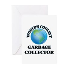 Garbage Collector Greeting Cards