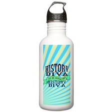 History Diva Water Bottle