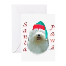 Unique Old english sheepdogs Greeting Cards (Pk of 20)