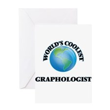 Graphologist Greeting Cards