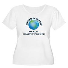 Mental Health Worker Plus Size T-Shirt
