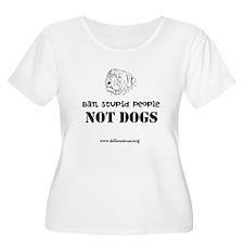 Ban Stupid People Plus Size T-Shirt