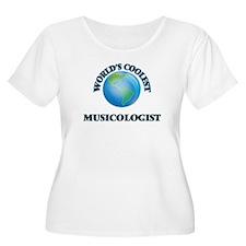 Musicologist Plus Size T-Shirt