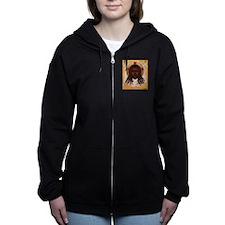 The Lion of Judah Women's Zip Hoodie