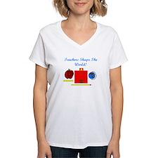 Teachers Shape The World Shirt