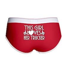 This Girl Loves Her Trucker Women's Boy Brief