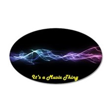 Its a Music Thing Wall Decal