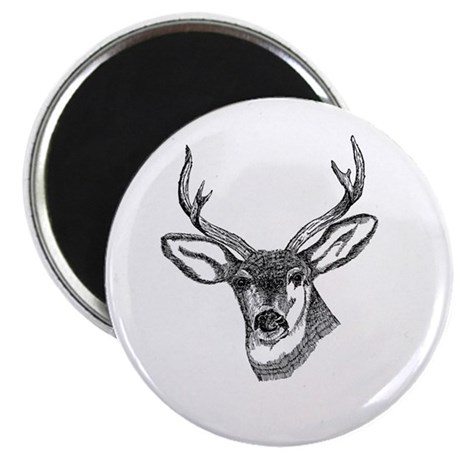 "Whitetail Deer 2.25"" Magnet (100 pack)"