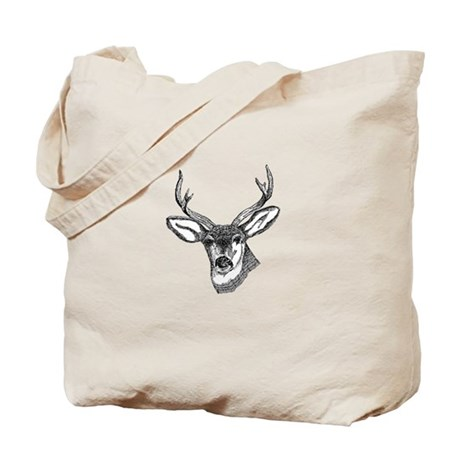 Whitetail Deer Tote Bag