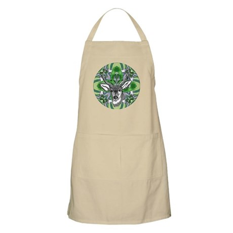 Kaliedoscope Deer BBQ Apron
