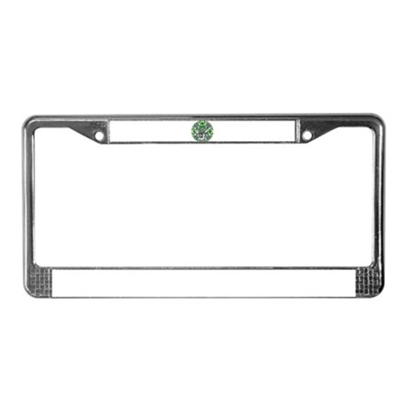 Kaliedoscope Deer License Plate Frame