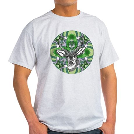 Kaliedoscope Deer Light T-Shirt