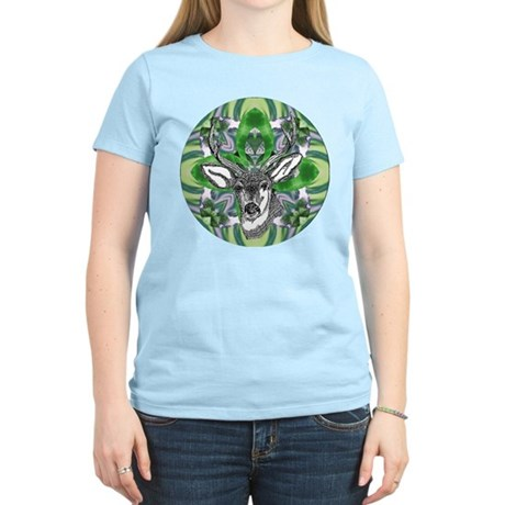Kaliedoscope Deer Women's Light T-Shirt