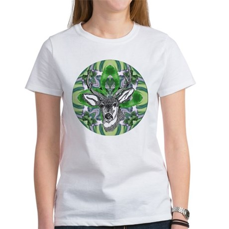 Kaliedoscope Deer Women's T-Shirt