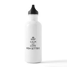 Keep calm and love Iri Water Bottle