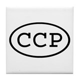 CCP Oval Tile Coaster