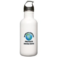 Private Detective Water Bottle