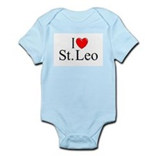"""I Love St. Leo"" Infant Bodysuit"