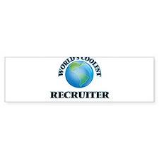 Recruiter Bumper Bumper Sticker