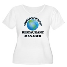 Restaurant Manager Plus Size T-Shirt