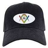 Masonic Rainbow & Eye S&C  Baseball-Mütze