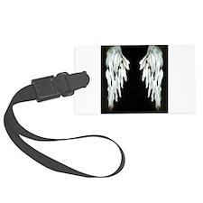 Glowing Angel Wings Luggage Tag