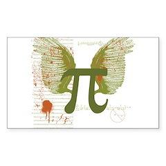 Pi Art Sticker