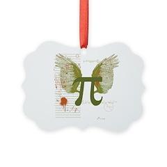 Pi Art Picture Ornament