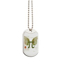Pi Art Dog Tags