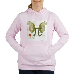 Pi Art Women's Hooded Sweatshirt