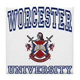 WORCESTER University Tile Coaster