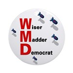 WMD Wiser Madder Democrat Ceramic Ornament