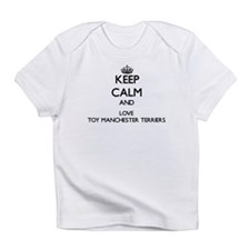 Keep calm and love Toy Manchester T Infant T-Shirt