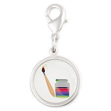 Rainbow Paint Charms