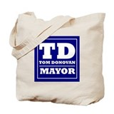 Cute Donovan Tote Bag