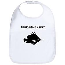 Custom Needle Nose Fish Silhouette Bib