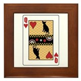 Queen Havana Framed Tile