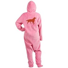 American Water Spaniel Footed Pajamas