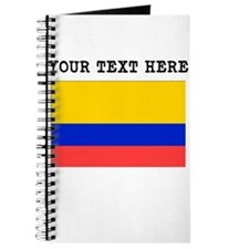 Custom Colombia Flag Journal