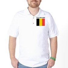 Custom Belgium Flag T-Shirt
