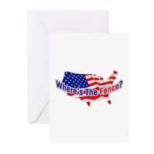 Where's The Fence - USA Greeting Cards (Package of