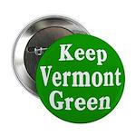 Keep Vermont Green Button