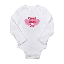 Funny Claires Long Sleeve Infant Bodysuit