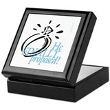 Wedding Day and Shower gifts Keepsake Box