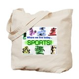 SPORTS! Tote Bag