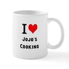 I Heart Love Custom Names Jojos Cooking Mugs